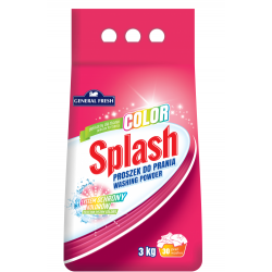 SPLASH COLOR PROSZEK DO PRANIA 3 Kg KOLOR Utrzymanie czystości