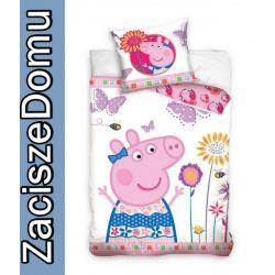 POŚCIEL 160x200 ŚWINKA PEPPA PEPA dla dzieci PIG