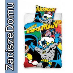 Pościel 160x200 BATMAN BAT MAN BAT-MAN