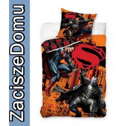 Pościel 160x200 SUPERMAN SUPER MAN MEN SUPERMEN