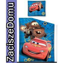 Pościel 140x200 CARS AUTA ZYGZAK ZŁOMEK SAMOCHODY