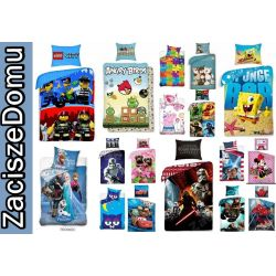 POŚCIEL 140x200 LEGO STAR WARS FROZEN CARS PONY AB