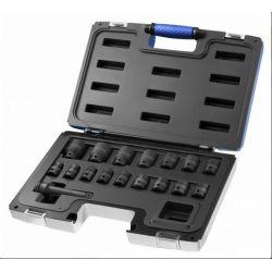 """Zestaw nasadek i akcesoriów udarowych 1/2"""" -17 sztuk E041603  EXPERT STANLEY"""