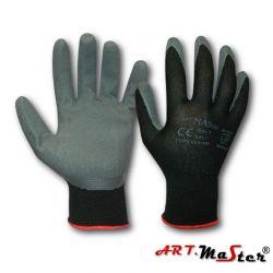 Rękawice robocze RWnyl black kat.1 Rozm.9
