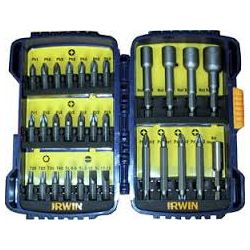 Zestaw narzędzi do wkręcania bity PŁ/PH/PZ/Torx 30szt. Irwin 10504385