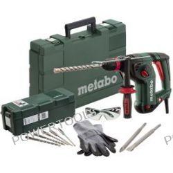 Metabo KHE 3251 kombimłotek 800W Set + osprzęt SDS-Plus 10 szt 690721000
