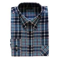 Koszula robocza niebieska - rozmiar XXL