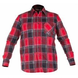 Koszula robocza czerwona - rozmiar XXL