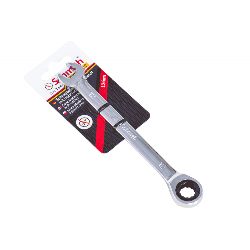 Schmith Klucz płasko-oczkowy z grzechotką FEST 19 mm SKPO-G19