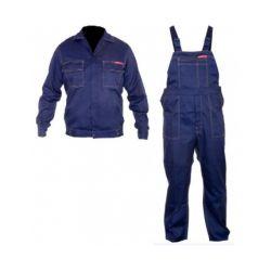 Ubranie robocze Lahti Pro Quest bluza plus ogrodniczki, kolor granatowy LPQK