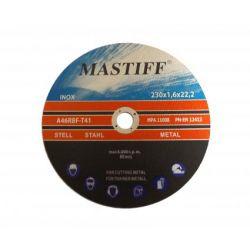 Tarcza tarcze do stali metalu MASTIFF 230x1,6 230