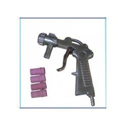 Pistolet do piaskowania LP-19 + 4 dysze piaskarki