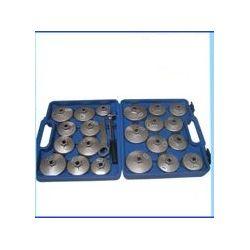 Zestaw kluczy klucze 23 el. nasadowych do filtrów