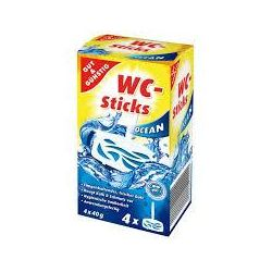 ZAWIESZKA DO WC G&G WC STICKS OCEAN  4x 40g
