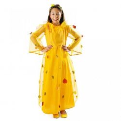 Strój Jesień 98/104 kostium królowa liści sukienka