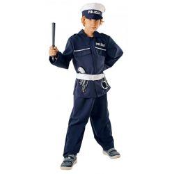 Strój POLICJANT 134/140 kostium mundur prezent bal