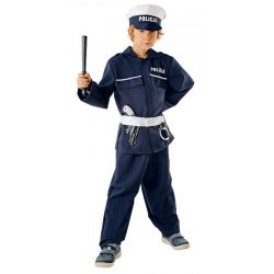 Strój POLICJANT 110/116 kostium mundur prezent bal