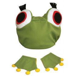 Zestaw Żabka czapka Frog stró bocian kostium bal