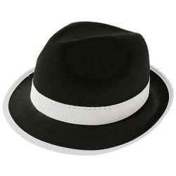 Kapelusz AL CAPONE GANGSTER czarny stroj kostium