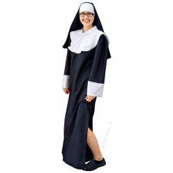 Strój dla dorosłych ZAKONNICA kostium klasztorny