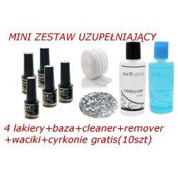 ZESTAW HYBRYDOWY MINI LAKIER BAZA CLEANER REMOVER