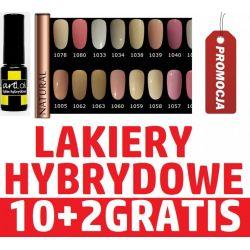 10+2 GRATIS * Lakiery Hybrydowe MANICURE HYBRYDOWY