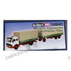 Mercedes-Benz Ciężarówka z Przyczepą KIBRI 14640 101-500 elementów