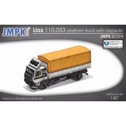 LIAZ 110.053 platform truck with tarpaulin, JMPK87294 Pozostałe