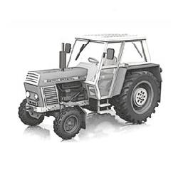 Zetor 8011, Boodymodel skala 1:87