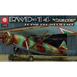"""RWD-14 """"Czapla"""" Lotnictwo węgierskie, ZTS PLASTYK 053"""