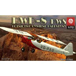 RWD-8 PWS Lotnictwo Cywilne Palestyny, ZTS PLASTYK 059 Statki powietrzne