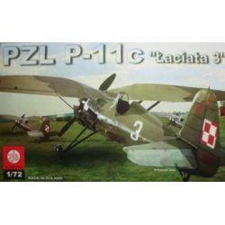 "PZL P-11c ""Łaciata 3"", ZTS PLASTYK 046 101-500 elementów"