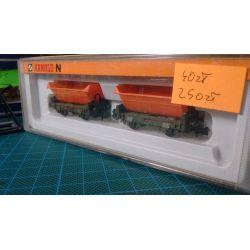 Zestaw dwóch wagonów w skali N, ARNOLD 0448 Zestawy