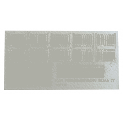 Płot przeciwśniegowy Typ: B, A&S Projekt Zestawy