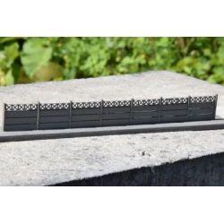 Płot betonowy Typ: 05 1:87, A&S Projekt Statki powietrzne