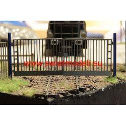 Brama prętowa z furtką I KoTeBi KTB087238 Wagony