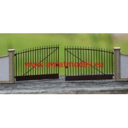 Brama wjazdowa łukowa KoTeBi KTB087215  Wagony