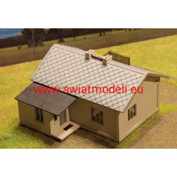 Dom wiejski kryty dachówką eternitową KoTeBi KTB087450 Części i elementy