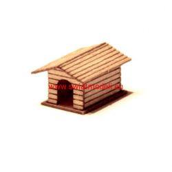 Drewniana buda dla psa KoTeBi KTB087222 Nieskategoryzowane