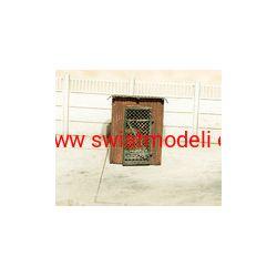 Drewniana komórka na narzędzia - KOTEBI KTB087352 Skarpetki