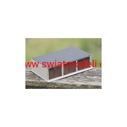 Garaż szeregowy 3 stanowiska KoTeBi KTB087304 HO - 1:87