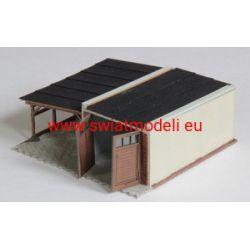 Garaż z wiatą KoTeBi KTB087307 101-500 elementów