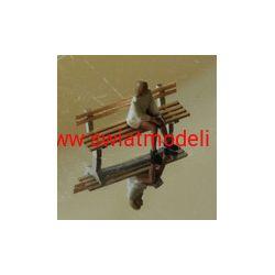 Ławki 4 rodzaje KoTeBi KTB087242 Zestawy