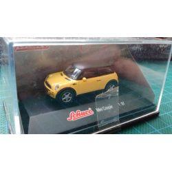 Mini Cooper żółty, SCHUCO 101-500 elementów