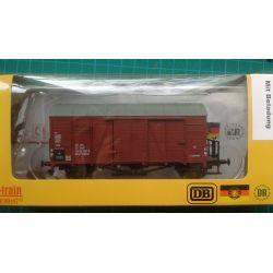 Exact-Train EX20766 Wagon towarowy kryty Oppeln .Glm (Kddt) z ładunkiem, PKP, Ep. IV  Wagony