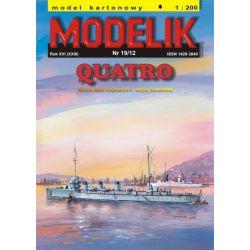 QUATRO 1/200 MODELIK1219 Pozostałe