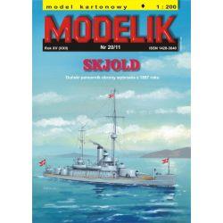 SKJOLD 1/200 MODELIK 1120 Materiały modelarskie