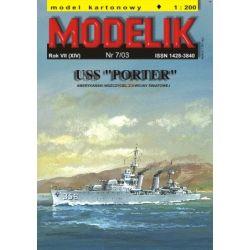 USS PORTER 1/200 MODELIK 0307 Skarpetki