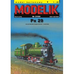 Px29 1/25 MODELIK 0521 Materiały modelarskie