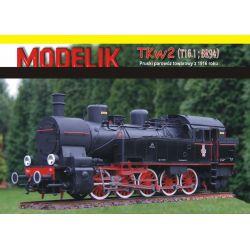 TKw2 1/25 MODELIK 1402 101-500 elementów